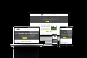 lawn care company website