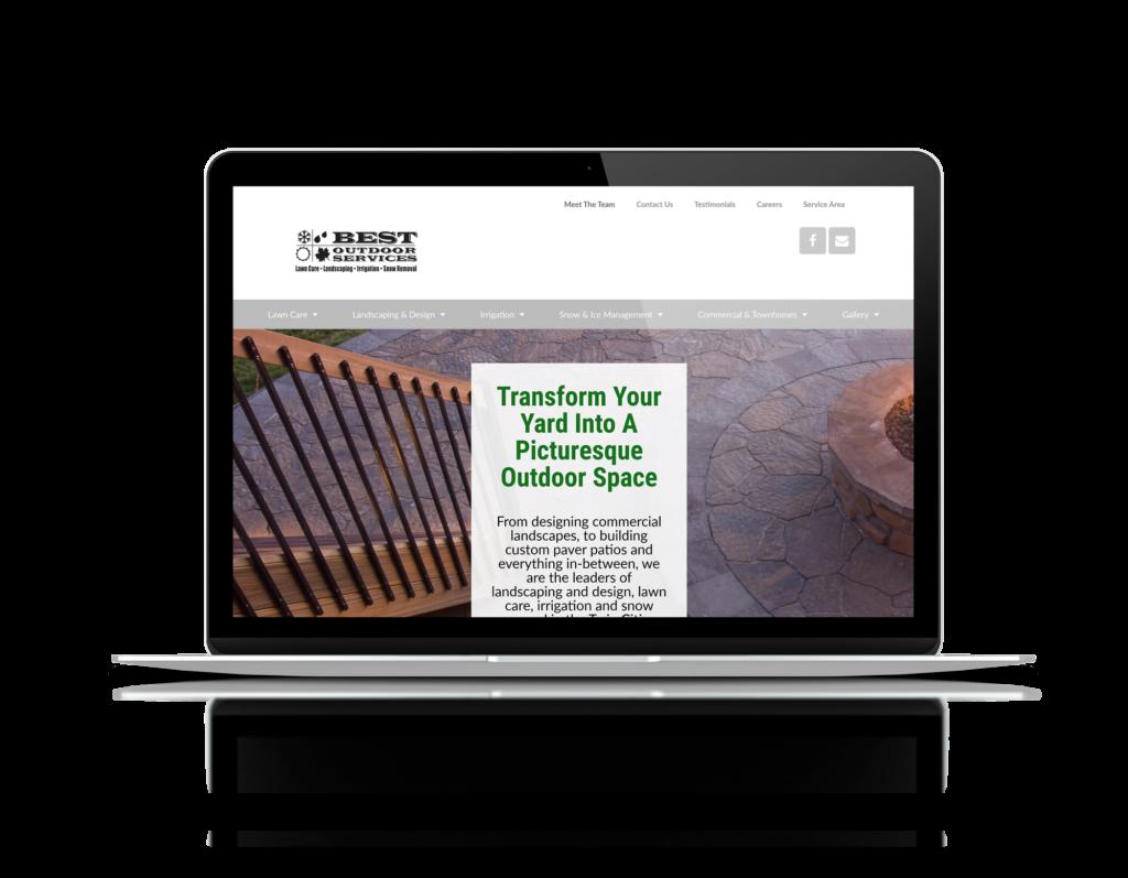 website for landscaper