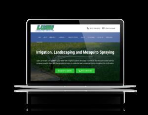 web design for landscaper