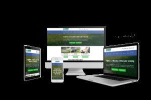 web design for landscaping