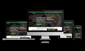 Black Rock Landscaping Website
