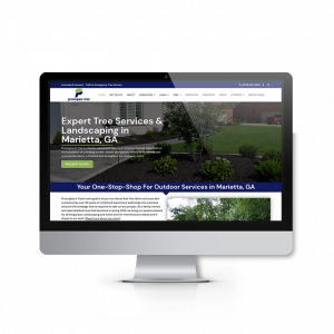 Landscaping and Tree Service Website Design